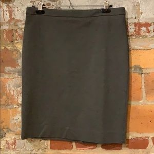 NWT J. Crew No. 2 Pencil Skirt in Stretch Twill